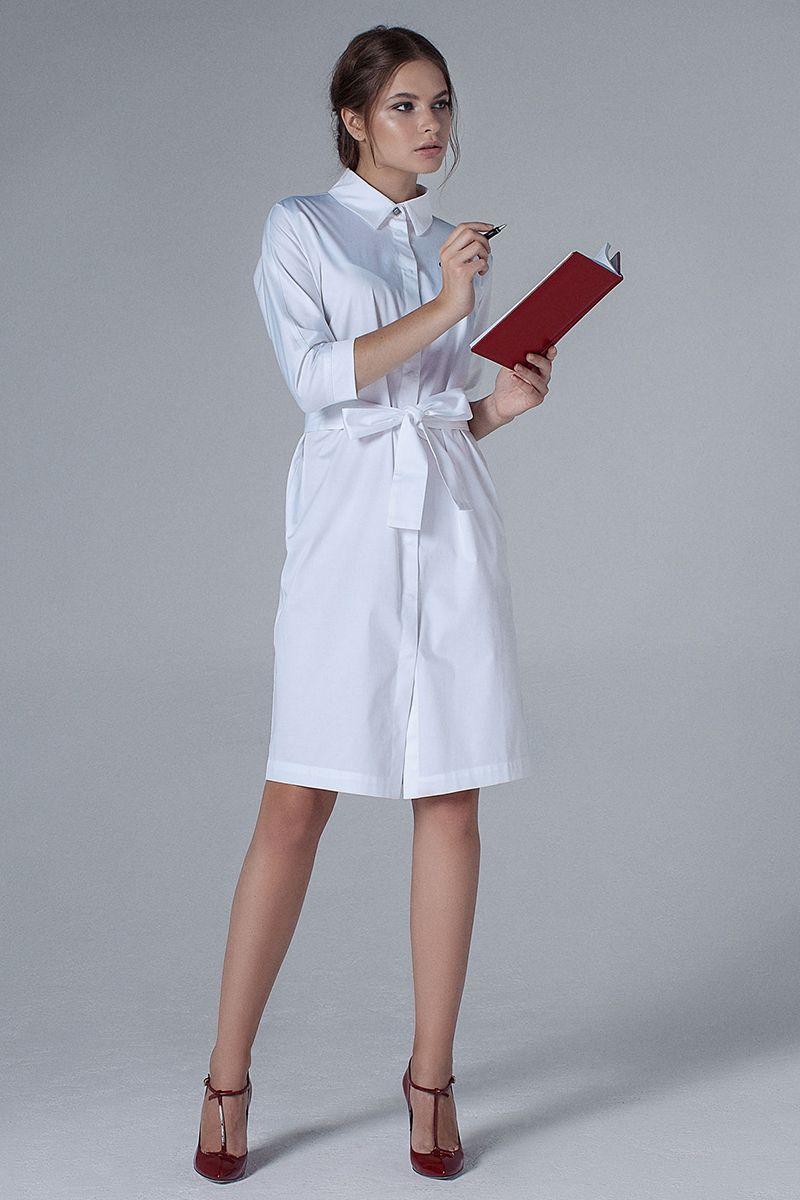 Девушки в белом халате