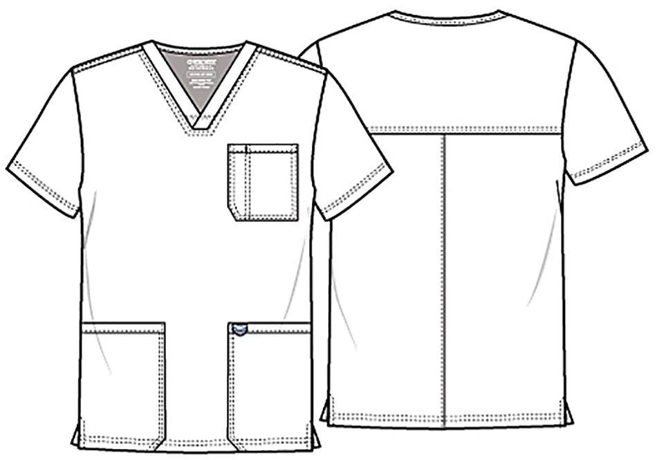 779e29130c2 Купить Мужская медицинская рубашка Cherokee WW670 с доставкой в ...